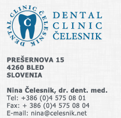 Dental Clinic Nina Celesnik Bled